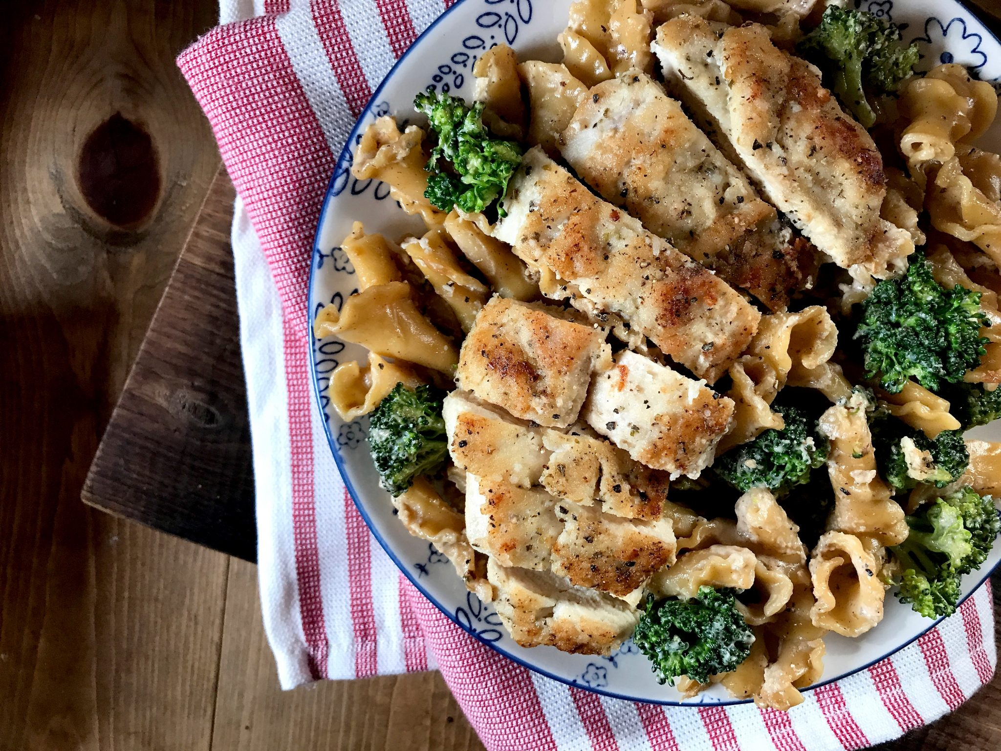 One Pot Chicken Con Broccoli
