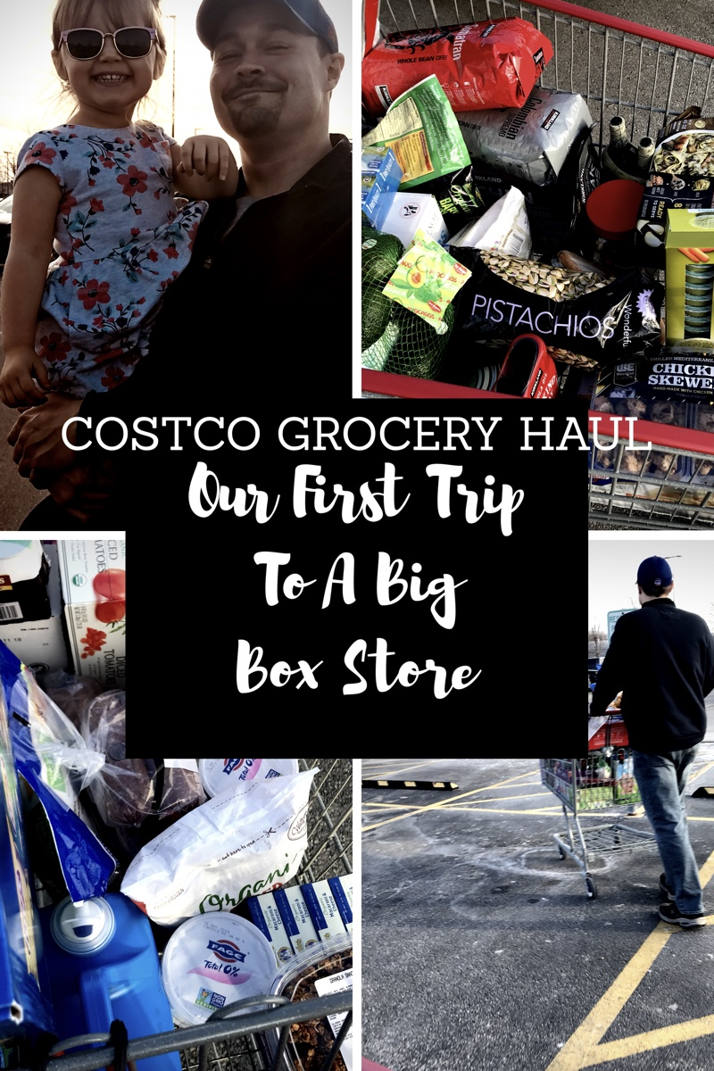 Our First Big Box Store Trip (Costco Grocery Haul!) - The
