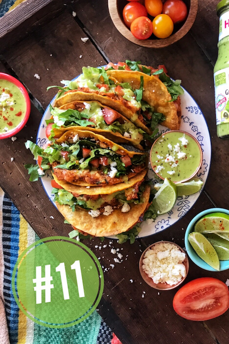 countdown number 11 chicken street tacos